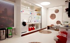 Saiba como decorar a lavanderia - Decoração - iG
