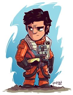 Chibi Poe Dameron by DerekLaufman on DeviantArt