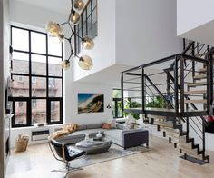 Soho Duplex Apartment in New York by Décor Aid