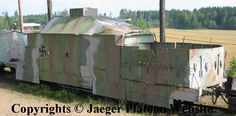 Pic show armoured train in Finnish use, both during the Finnish Civil War and WW2.