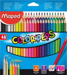 Color Peps Coloured Pencils (Pack of Details - Rainbow Resource Center, Inc. Ramadan Gifts, Rainbow Resource, Artist Pencils, Drawing Letters, Cute School Supplies, Pencil Boxes, Coloured Pencils, Gel Pens, Pepsi