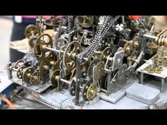 """World's Most Useless Machine Took 7 Years To Create [Video] - It's called the """"Do Nothing Machine"""" and took 7 years to make. The interesting thing is that it doesn't do anything. Nothing at all."""