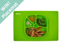 Onco Prize Draw Terms and Conditions: The prizeis a green Onco 2 in 1 baby plate and placemat Closing date:31st October 2016 UK entrants only To enter:1) sign