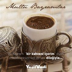 """Bu bayram """"bir kahveni içerim"""" diyen misafirlerinizin bol olması dileğimizle :) Mutlu Bayramlar! #RamazanBayramı"""