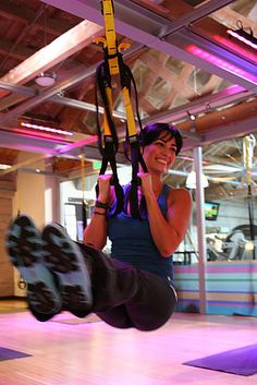 Prepare Yourself For the TRX Challenge.... I think 4 grace Pilates in okc has this class...I wanna try