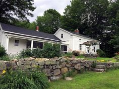 YorkTeam open house Sat. 6/9 from 1-3pm.This historic farmhouse has been totally remodeled and is charming. Offering pastoral views a large horse barnchicken coop perfect for animals or storing snowmobiles boats or other toys. The interior offers wood floors granite counters first-floor bedroom and laundry plus a 2nd-floor bonus room.
