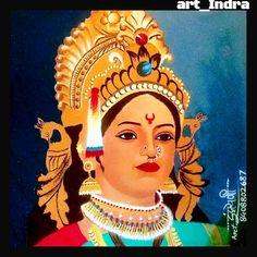 My rangoli work🎨 Maa durga🙏🏻🚩 Working time 8 hours Rangoli Designs Flower, Colorful Rangoli Designs, Rangoli Ideas, Rangoli Designs Diwali, Beautiful Rangoli Designs, Durga Ji, Durga Goddess, Poster Rangoli, Mata Rani