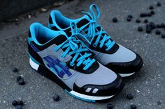Asics Gel Lyte III Blueberry (Kith NYC Exclusive)