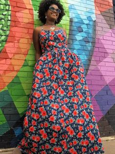Parade of Projects with Hedge Rose Fabrics – Kelly Panacci Maxi Styles, Ethnic Dress, Clothing Patterns, Women's Clothing, Sweet Girls, Dress Making, Cotton Fabric, Clothes For Women, Star Spangled