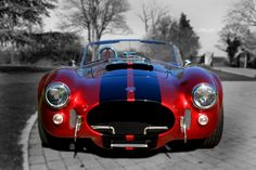 AK Sportscars is based in Peterborough and specialises in the design and manufacture of one of the finest cobra kit recreations in the country. Cobra Kit, 427 Cobra, Classic Hot Rod, Classic Cars, Ford Shelby Cobra, Cobra Replica, Old Muscle Cars, Sweet Cars, Hot Rides