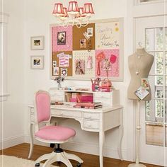 """Cute office chair (but I might want arms) and I LOVE the """"mannequin"""" what the heck would I need that in my office for? No idea but it's cute!"""