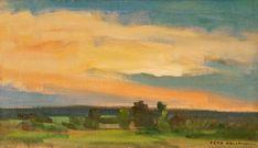 Dusk by Eero Nelimarkka, 1942 Dusk, Scandinavian, Artists, Landscape, Painting, Image, Beautiful, Scandinavian Paintings, Artist