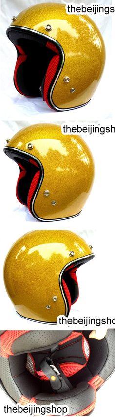 GOLD Metal Flake Retro Bubble Motorcycle Helmet [masei901GG] - $69.01 : TheBeijingshop.com, Fixie Bike Fixed Gear Bicycle Parts, Motorcycle Helmet & Apparel, Modify Cars Parts