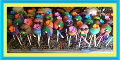Luau cakepops