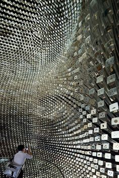 Seed Cathedral, the UK Pavilion created by Thomas Heatherwick for the World Expo in Shanghai 2011