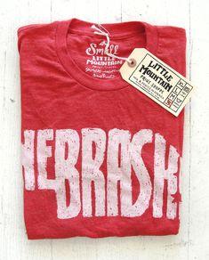 Nebraska shirt, made in Lincoln!