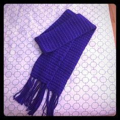 Handmade scarfs in purple and tilt colors Never worn offer welcome  Other