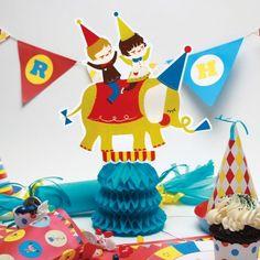 Circus party centerpiece