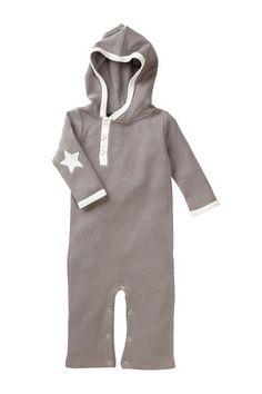 Long Sleeve Star Hooded Jumpsuit
