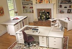 great advice on how to set up a sewing and or craft room
