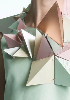 Tessa Marie Cox - geometric fashion piece
