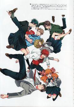 Gekkan Shoujo Nozaki-kun | Tsubaki Izumi | Dogakobo / Sakura Chiyo, Nozaki Umetarou, Seo Yuzuki, Mikoshiba Mikoto, Kashima Yuu, Hori Masayuki, and Wakamatsu Hirotaka