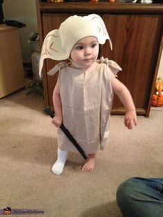 Harry Potter and Dobby Halloween Costume - YES