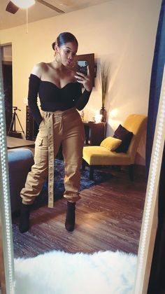 3626 best black girl fashion images in 2019 Dope Outfits, Trendy Outfits, Casual Outfits, Fashion Outfits, Swag Fashion, Fall Winter Outfits, Autumn Winter Fashion, Summer Outfits, Black Girl Fashion