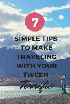 Have you traveled with tweens lately? Traveling with tweens is a totally different ballgame!  You need new strategies for making your trip amazing! via /applesandor0079/