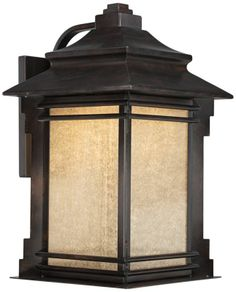 Hickory Point Bronze Franklin Iron Works Outdoor LED Light - #EUY7003 - Euro Style Lighting