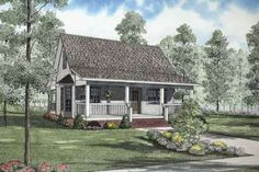 House Plan 17-2139 - 975 sq ft  2 beds  1.00 baths  31' wide  37' deep - Very nice plans