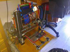 Impresora 3D de nuestro alumno José Pérez Fenoy.