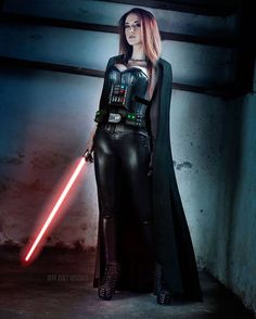Darth Vader (Star Wars) cosplay by Claire!Photo by @jeffzoetvisuals