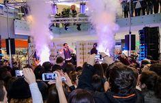ΜΕΛΙSSES @ Christmas Live Stage Athens Metro, Mall, Stage, Live, Christmas, Natal, Xmas, Weihnachten, Yule
