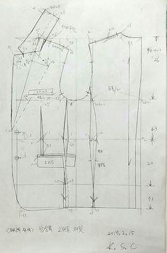 Best 9 modelist kitapları: jackets (Chinese method of pattern making) – SkillOfKing. T Shirt Sewing Pattern, Blazer Pattern, Suit Pattern, Collar Pattern, Pattern Drafting, Dress Sewing Patterns, Jacket Pattern, Clothing Patterns, Tailoring Techniques