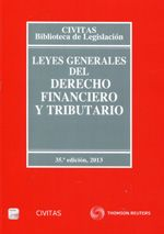 Leyes generales del derecho financiero y tributario / compilación y anotación por Mercedes Ruiz Garijo