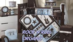 Music themed baby room