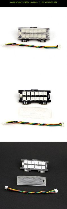 ImmersionRC Vortex 250 Pro - 12 LED with Diffuser #osd #gadgets #products #shopping #technology #drone #camera #immersionrc #plans #tech #kit #parts #racing #fpv