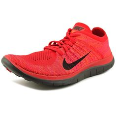innovative design a02bf e35b6 Nike Mens Free 4.0 Flyknit Athletic Shoes