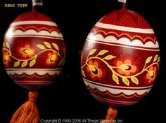 Ukrainian Easter Egg Pysanky UA06154 by Iryna Vakh from the Lviv on AllThingsUkrainian.com