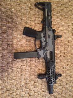 AR gun porn (ok lets see them) - Page 56 Shotguns, Firearms, Rifles, Ar Pistol Build, Ar Rifle, Steampunk Weapons, Battle Rifle, Submachine Gun, Custom Guns