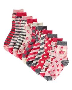 71462fa99c Mismatched sock set. Oh em gee. Juicy Couture