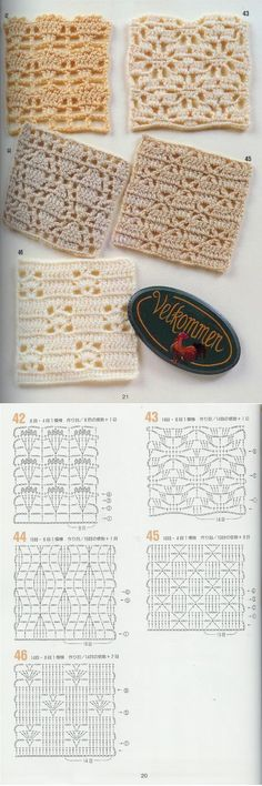 a href='/tag/Crochet_Stitches_Tutorial'#Crochet_Stitches_Tutorial/a - 'Here's a beautiful crochet stitch tutorial with many photos and clear instructions.. ~Free crochet patterns~