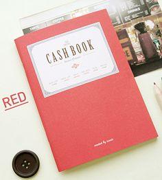 Мини-планинг расходов Cash Book - Red