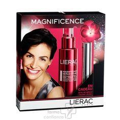LIERAC Estuche Regalo Magnificence Sérum Rojo 50 ml + REGALO Hydra-Chrono Labios