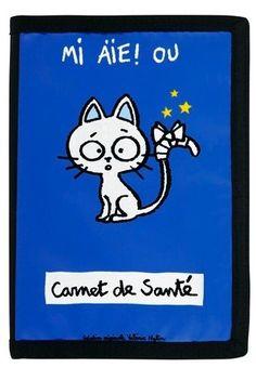keladeco.com - protège carnet de santé pour #chat - Derriere la porte