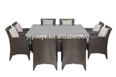 Directo de fábrica Impermeable Correas de Muebles De Mimbre Al Aire Libre Muebles de Ratán para Hotel