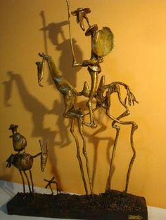 Dom Quixote. Inspirado Picasso