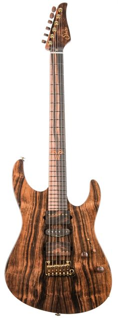 Suhr 2016 Collection Macassar Ebony Modern Serial Number 011 at The Guitar Sanctuary McKinney Texas