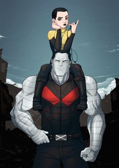 """shamserg: """" Colossus and NEGASONIC TEENAGE WARHEAD I really liked Deadpool movie and i going to watch it again in original voiceover with subs. Russian dub was pretty good, but i realy want to hear..."""